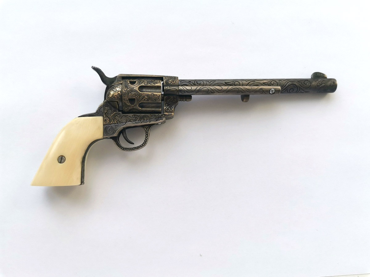 4mm Colt 1873 Peacemaker scale 1:2