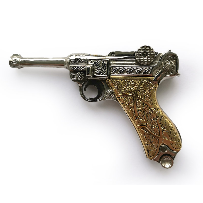 Luger P08 silver