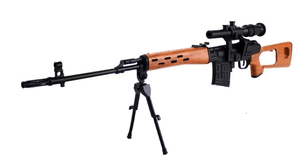 Model SVD Dragunov sniper rifle on a scale of 1: 4 to buy ...