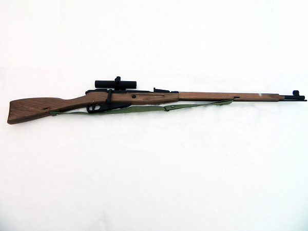 Mosin sniper rifle