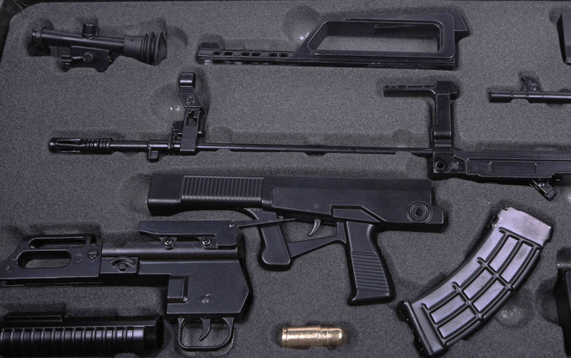 Models of automatic weapons